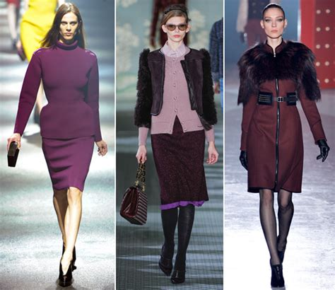 fall 2012 color trends fashionising the top fall 2012 color trends
