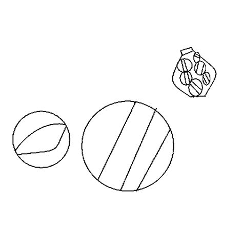 bag of marbles coloring page coloring pages