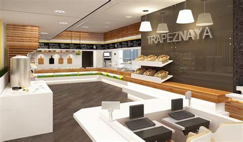 exemple de cuisine am駭ag馥 interior design trapeznaya cafe by nostro