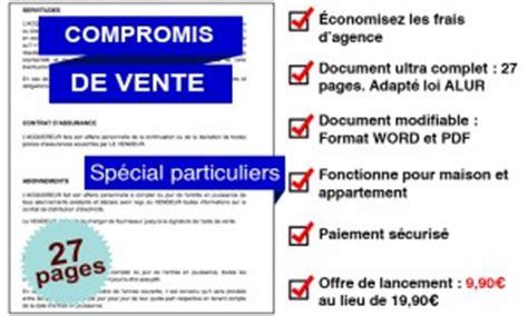 Promesse De Vente Terrain 4559 by Compromis De Vente Maison Mod 232 Le Avie Home
