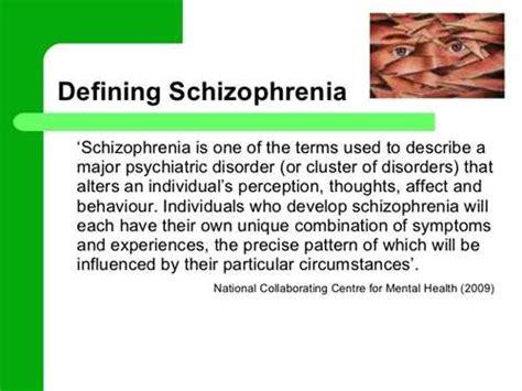 schizophrenia research paper research paper on schizophrenia exle schizophrenia