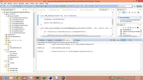 tutorial android cocos2d android how to create apk from helloworld sle of