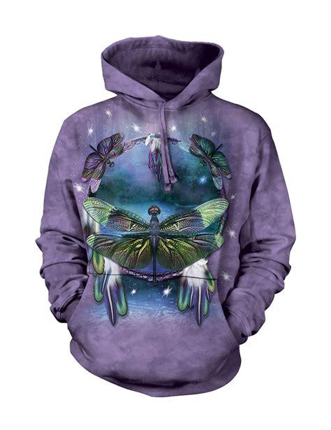 dreamcatcher hoodie dragonfly dreamcatcher hoodie the mountain tshirthd