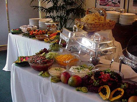 Catering Buffet Tables Catering For Your Wedding Reception Hubpages