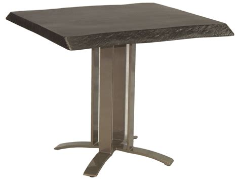 32 Dining Table Castelle Moderna Cast Aluminum 32 Square Dining Table Hsd32
