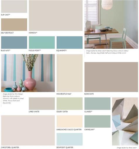 dulux colour palette my home