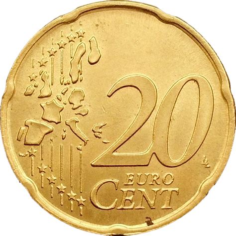 20 buro cent 20 cents d 1 232 re carte italie numista