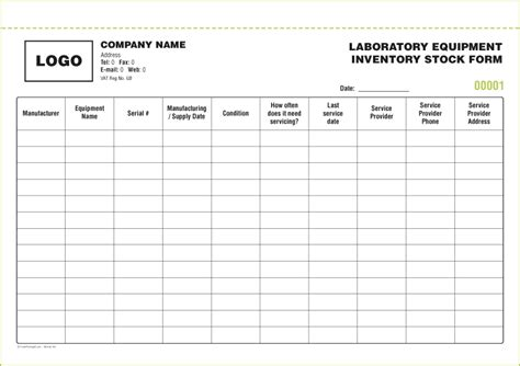 stock photo template stock inventory forms from 163 50 free inventory form