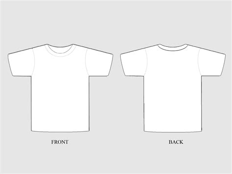 t shirt template free plain t shirt free images at clker vector clip