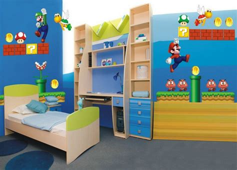 super mario bedroom decor boys room interior design