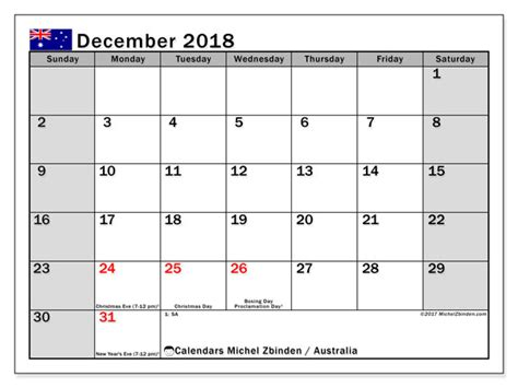 2014 calendar australia template december 2018 calendar australia printable blank template