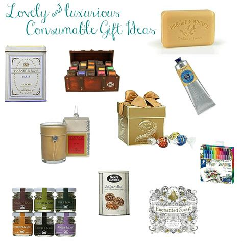 consumable gift ideas lovely luxurious consumable gift ideas the happy housie