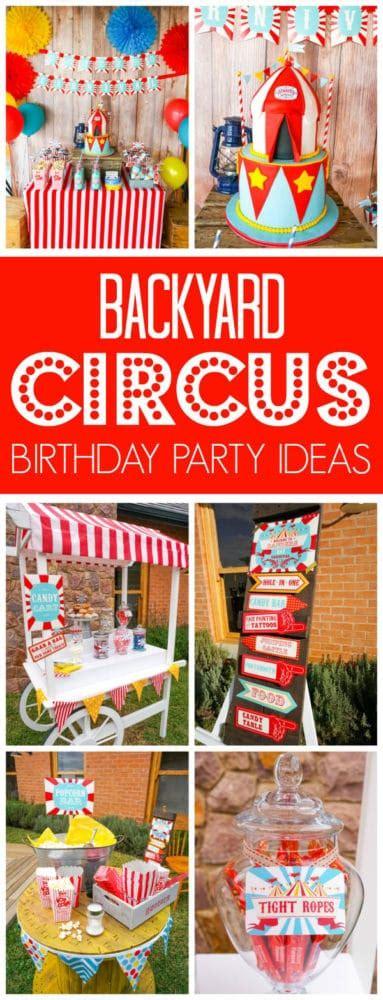 backyard carnival backyard carnival party