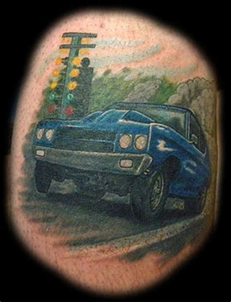 drag racing tattoos car logo s