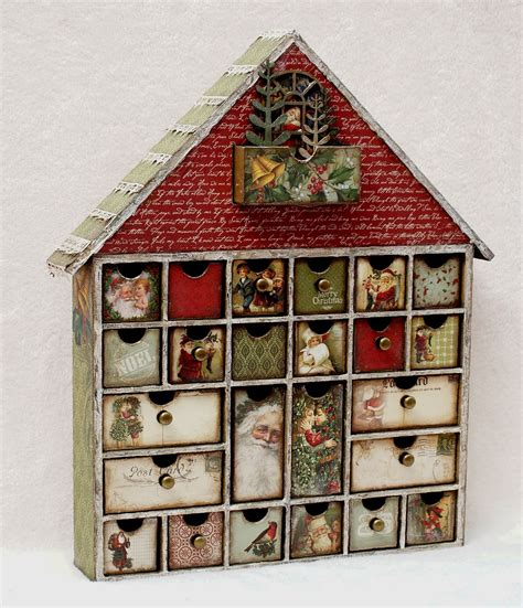 Kaisercraft House Of Drawers by St Nicholas Collection With Hetty Geraldine And Trudi