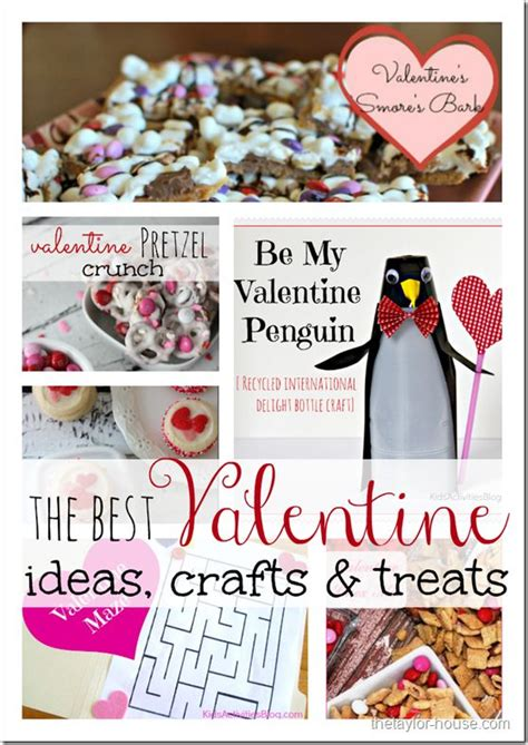 the o jays valentines day treats and crafts on