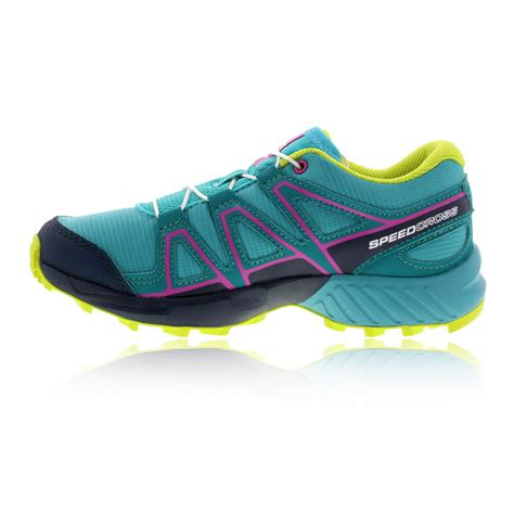 running shoes for juniors salomon speedcross junior trail running shoes aw17 40