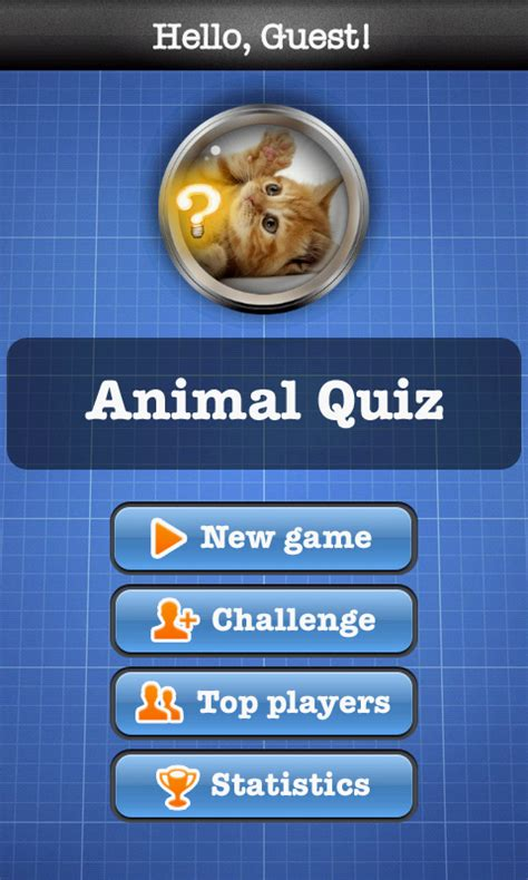 animal quiz animal quiz free android apps android freeware