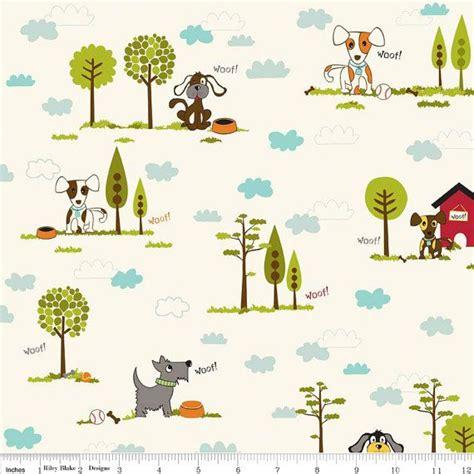puppy blvd 58 best doggie print fabric images on fabric shop doggies and garten