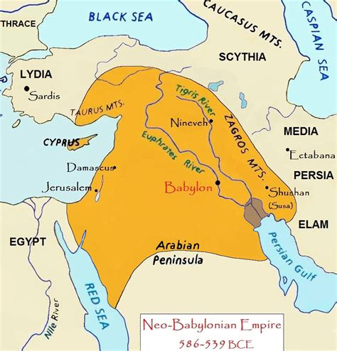 babylon and jerusalem map daniel and nebuchadnezzar torahsparks