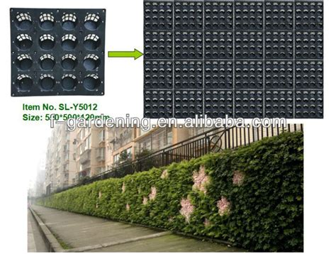Living Wall Panel Outdoor Planter by Vertical Green Wall System Planters Greenwall Planters Interior Exterior Living Wall Planters