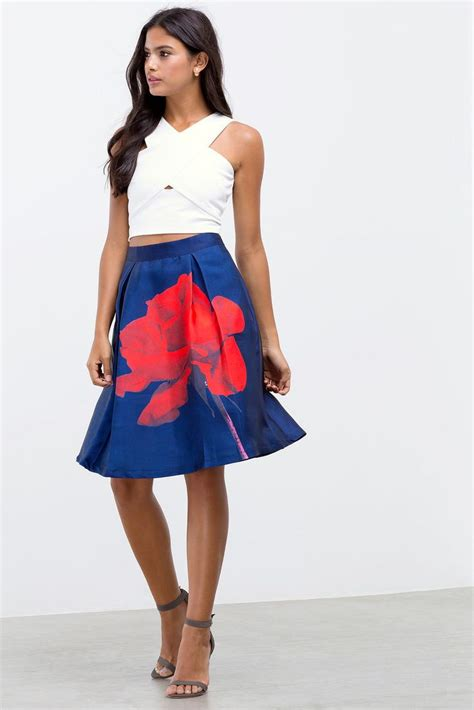 Flare Skirt Midi Excellent Quality a gaci petal midi flare skirt boutiquefive boutique five skirts flare