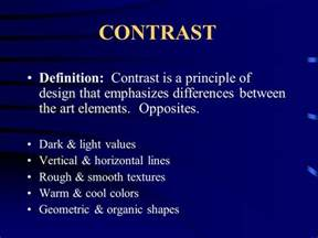 color contrast definition the principles the principles are the ways in