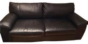Ikea Leather Sleeper Sofa Ikea Black Leather Sofa Bed Sofas New York By Aptdeco