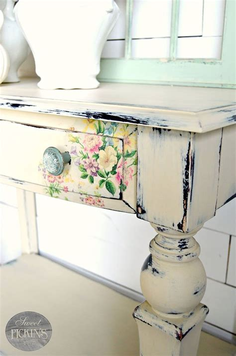Decoupage Painting Techniques - best 25 floral furniture ideas on vintage