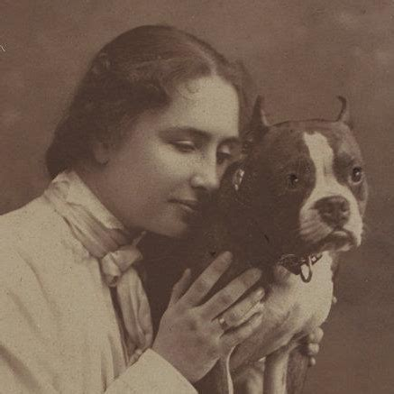 helen dogs helen keller papers radcliffe institute for advanced study at harvard