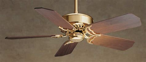Top Of The Line Ceiling Fans by Casablanca Ventura Ceiling Fan 6722t In Bright Brass