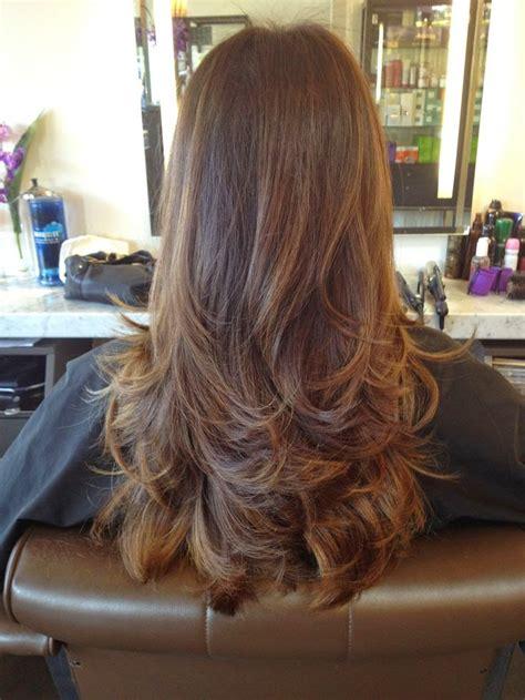 model rambut layer panjang  pendek