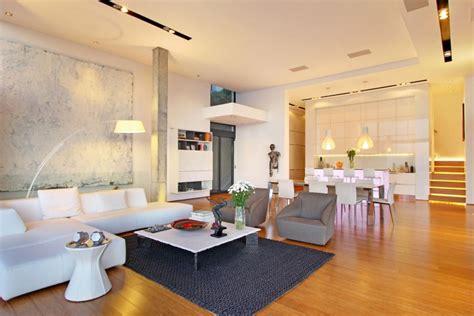 bright light living room dining room interior design ideas