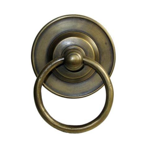 Unlacquered Brass Cabinet Hardware by Gado Gado Ring Pulls 3 1 8 Inch Diameter Unlacquered