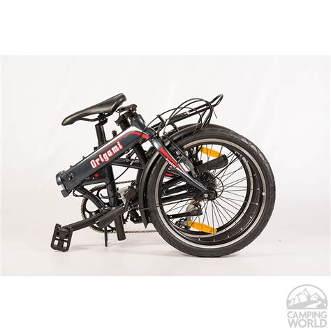Origami Crane Folding Bike - origami crane 8 bike gray metallic origami bicycle