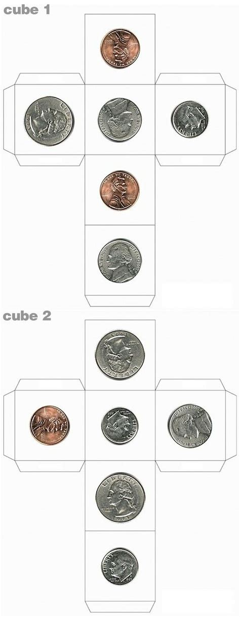 printable coin dice 15 best make your own dice images on pinterest preschool