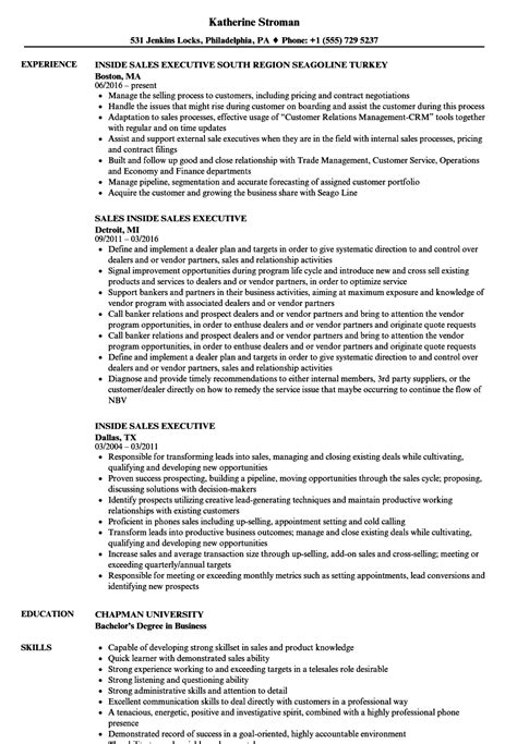 sales executive resume sle template for promissory note