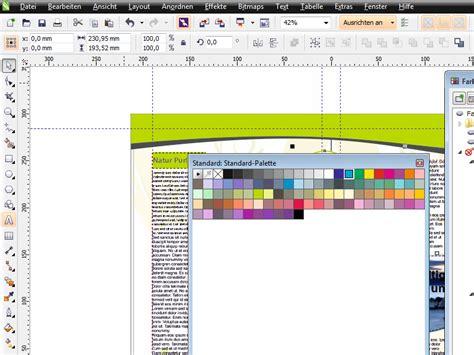 tutorial corel video x6 coreldraw x6 grundlagen farbpalettenmanager corel