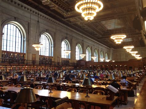 library reading room rose main reading room at the new york public library i