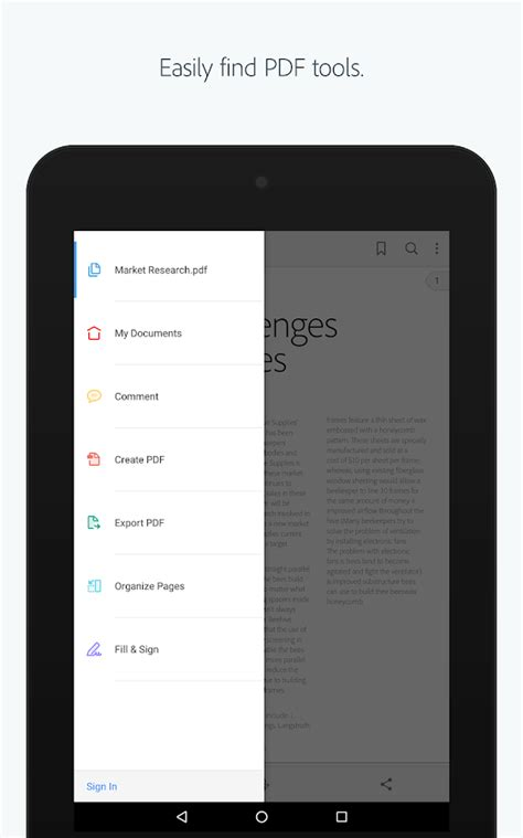 Adobe Acrobat Reader - Android Apps on Google Play