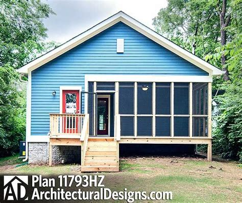 house plans with porches on front and back plan 11793hz 3 bed cottage with porches front and back porch and tiny house plans