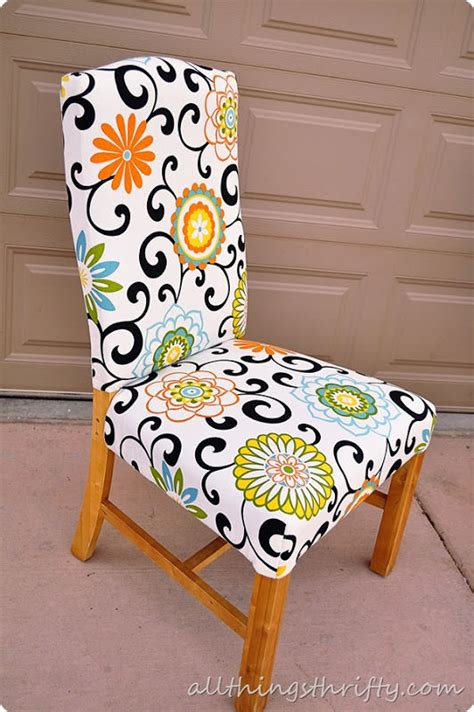 How To Upholster A Dining Room Chair How To Reupholster A Chair The Budget Decorator