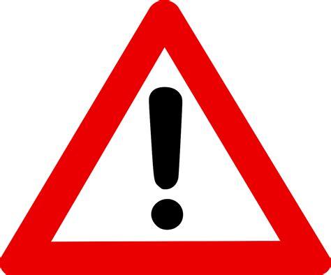 warning sign hazard warning signs clipart best