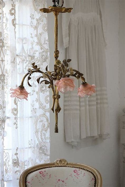 Chandelier Shabby Chic Antique Shabby Chic Chandelier Of Beautiful Roses Combining Artistic