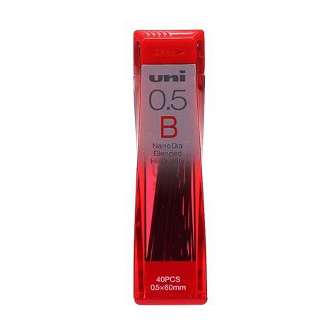 Uni Nano Dia Pencil Lead 0 5 Mm 4b Isi Pensil Mekanik 4b 0 5 Mm uni nano dia 0 5mm b leads highlights