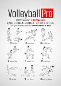 Exercises At Desk Volleyball Pro Workout