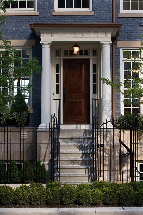 mi homes design center easton a townhome front door door porch ideas pinterest