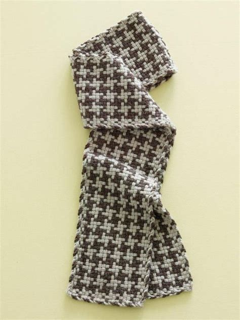 how to knit houndstooth crafts brand 174 yarn alpaca blend loom woven
