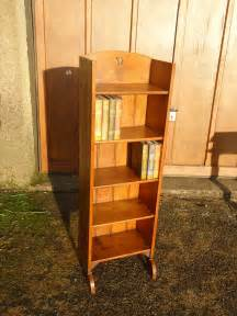 arts crafts bookcase with yin yang piercings antiques