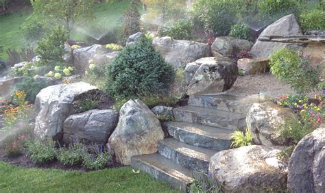 backyard rock garden how to make your own rock garden marc and mandy show